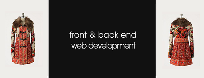 front and back end web development capabilities