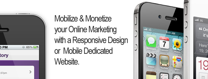 mobile websites and responsive design services